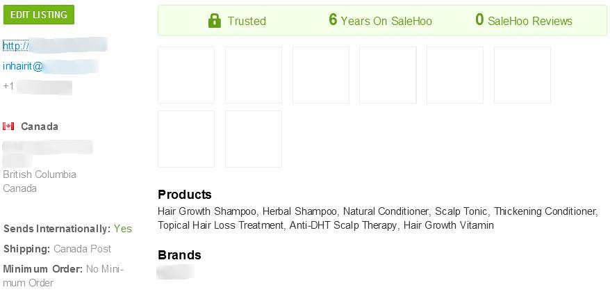 SaleHoo anti-hair loss supplier #1