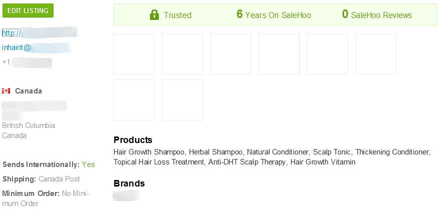 SaleHoo anti-hair loss supplier #1