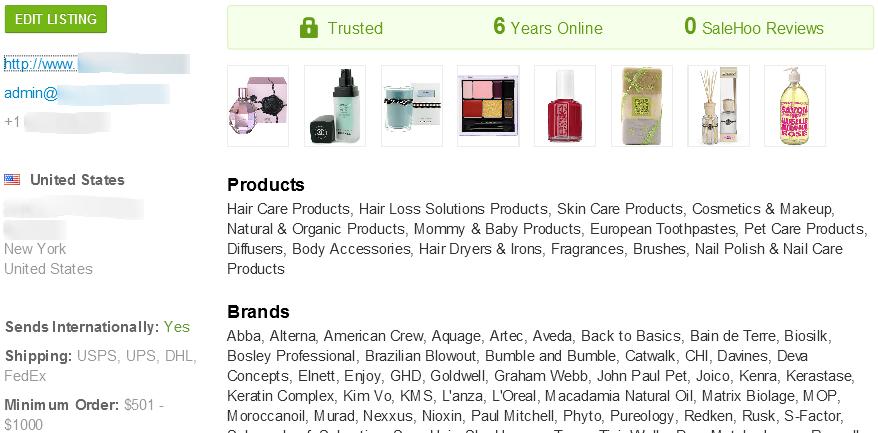 SaleHoo anti-hair loss supplier #2