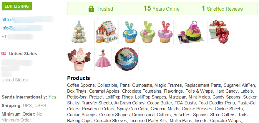 Cupcake liners wholesale supplier #2 - SaleHoo