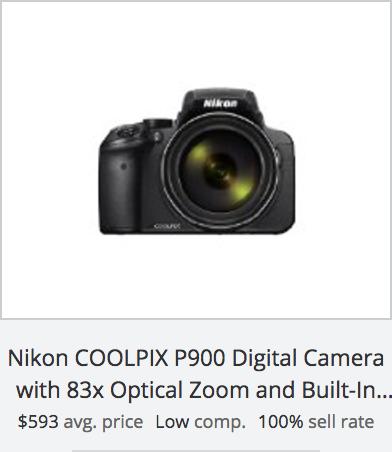 Digital Camera Success Rate: Nikon COOLPIX