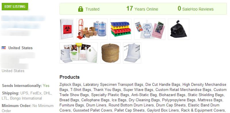 Reclosable Bags - SaleHoo Wholesale Supplier 2