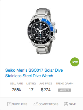 Success rate Diver's Watch