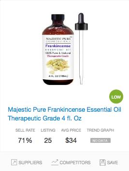 Success rate Essential Oils