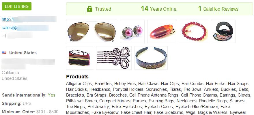 SaleHoo fake lashes wholesaler #2
