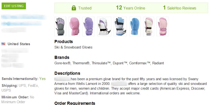 Heated Gloves SaleHoo Wholesale Supplier 1