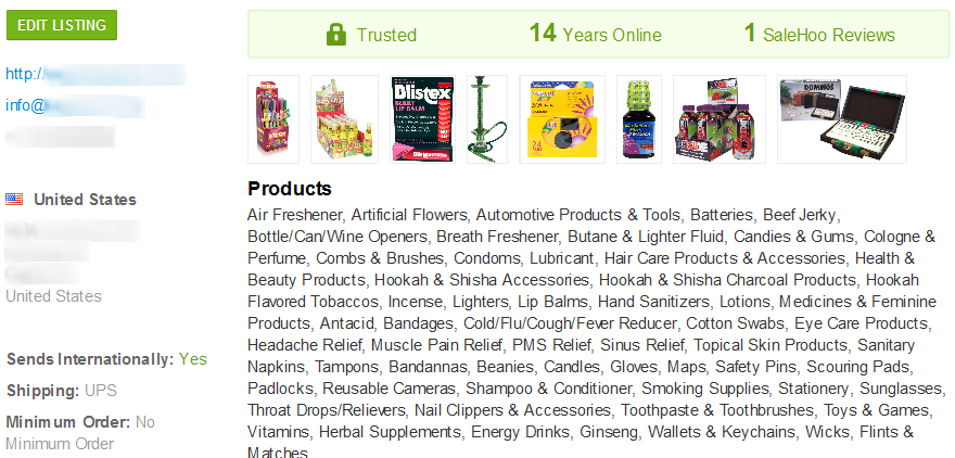 Wholesale hookah supplier #2 - SaleHoo