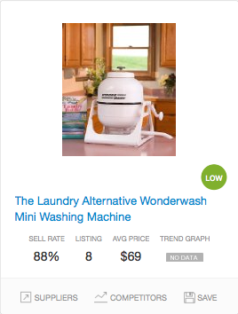 Success rate Washing Machines