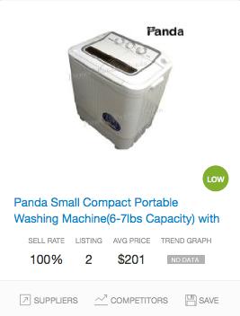 Success rate Washing Machines