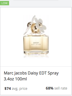 Success rate Marc Jacobs Daisy
