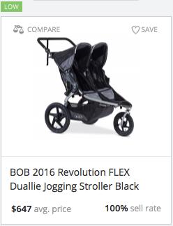 Success rate for Revolution Flex Duallie Jogging Stroller