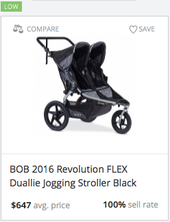 Success rate for Revolution Flex Duallie Jogging Stroller