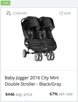Success rate for City Mini Double Stroller
