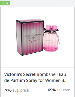 Success rate Victoria's Secret Bombshell