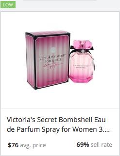 Success rate Victoria's Secret Bombshell