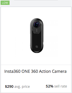 Success rate Action Camera