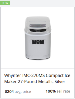 Success Rate Ice Maker