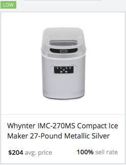 Success Rate Ice Maker