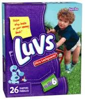 Disposable Diapers - Luvs