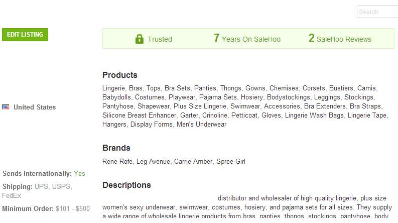 Men's Underwear - SaleHoo Wholesale Supplier 1