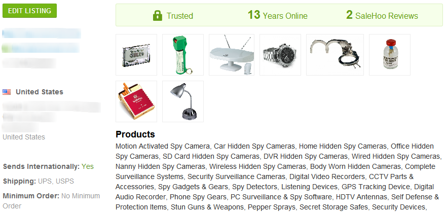 Nanny Cam - SaleHoo Wholesale Supplier 3