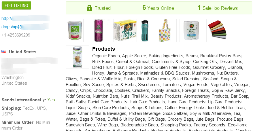 SaleHoo wholesale organic baby formula supplier #1
