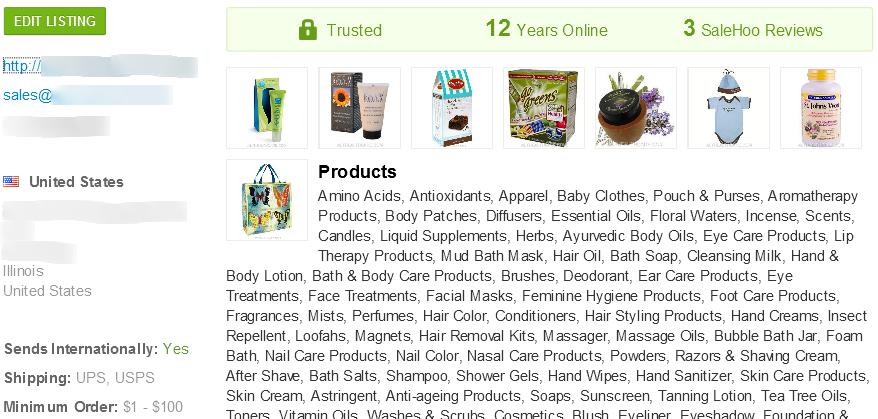 SaleHoo wholesale organic baby formula supplier #2