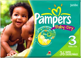 Disposable Diapers - Pampers
