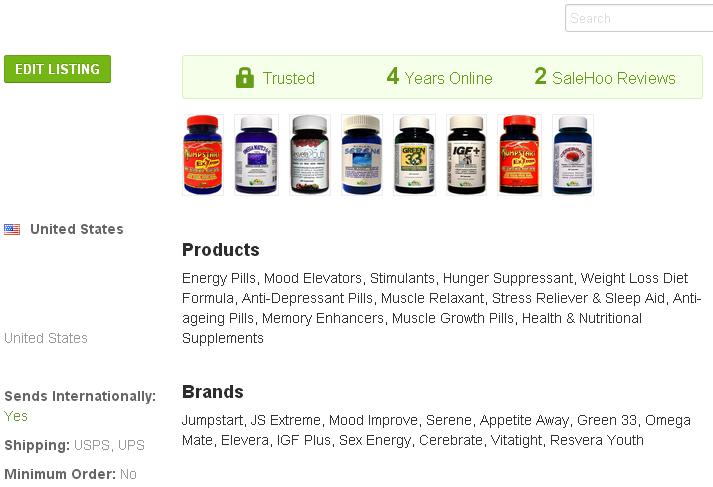 muscle relaxant SaleHoo Wholesale Supplier 1