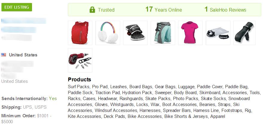 Ski Mask SaleHoo Wholesale Supplier 3