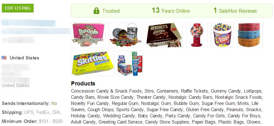 Sugar Free Gum - SaleHoo Wholesale Supplier 1