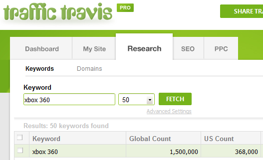 Traffic Travis Search - Xbox 360