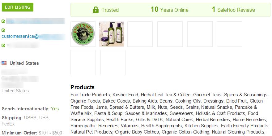 Acne Cream wholesale supplier #2 - SaleHoo