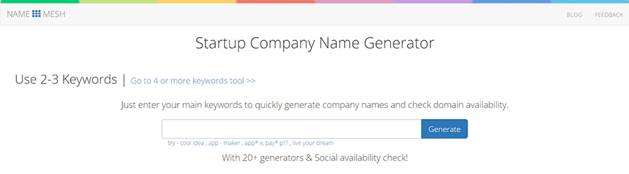 22 free business name generators for founders best of 2018 salehoo