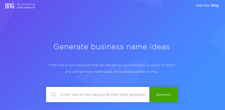 22 Free Business Name Generators for Founders (Best of 2018