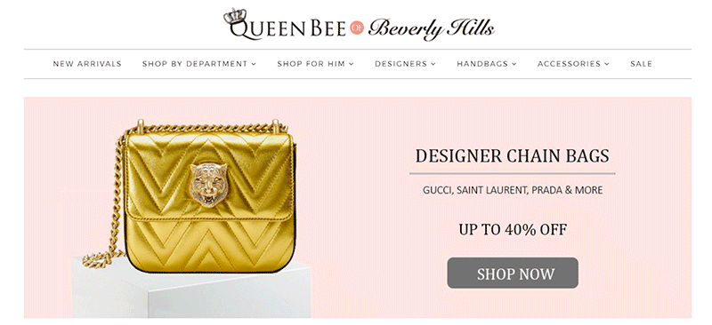 0351123ed This website contains affordable designer purses with names such as Gucci,  Saint Laurent, and Prada. Not to mention, they have sales on their items  daily!