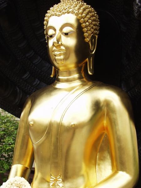 antique budda