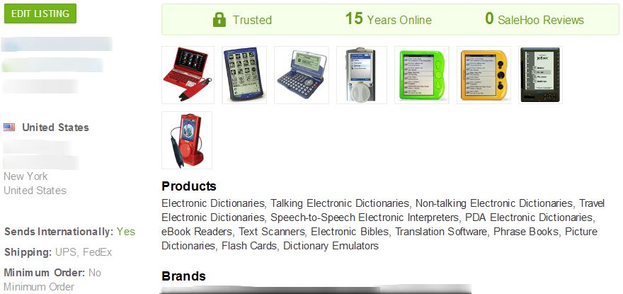 eBook Reader - SaleHoo Wholesale Supplier 1