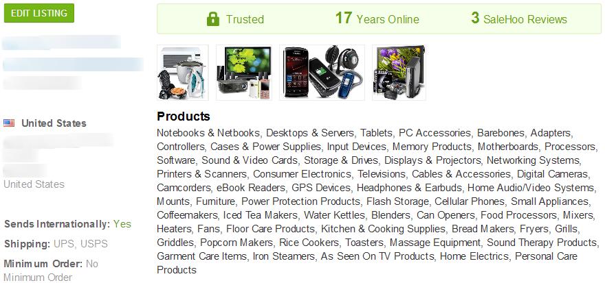 eBook Reader - SaleHoo Wholesale Supplier 2
