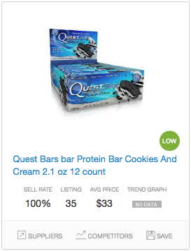 Success rate Protein Bars