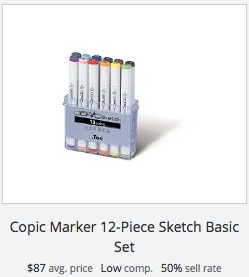 Copic Sketch Markers - Basic Set