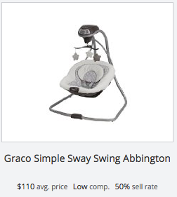 Success rate for Graco baby swing