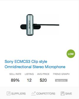 Success rate Microphones