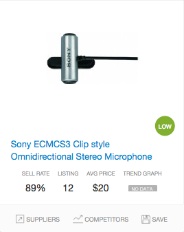 Success rate Microphones