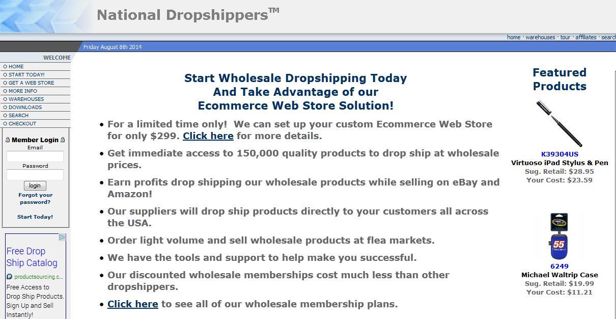 NationalDropshippers.com