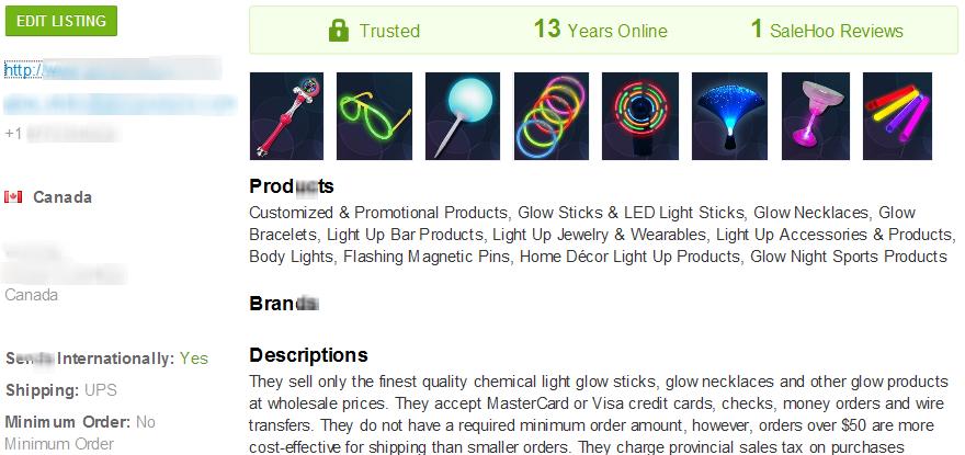 Night golf wholesale supplier #1 - SaleHoo