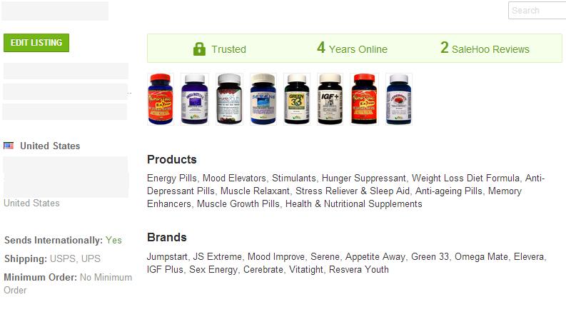 Slimming Pills - SaleHoo Wholesale Supplier 2