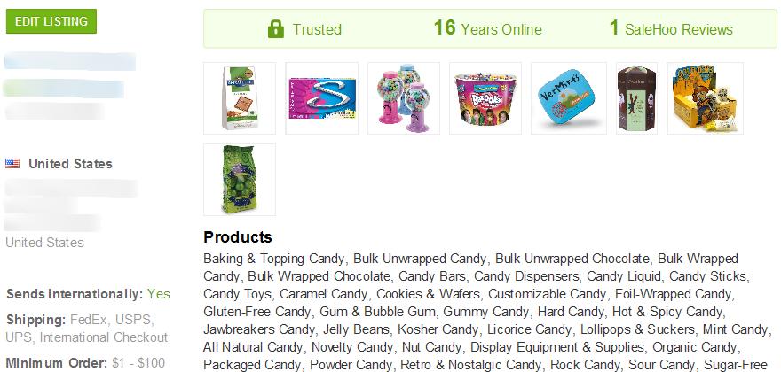 Sugar Free Gum - SaleHoo Wholesale Supplier 2