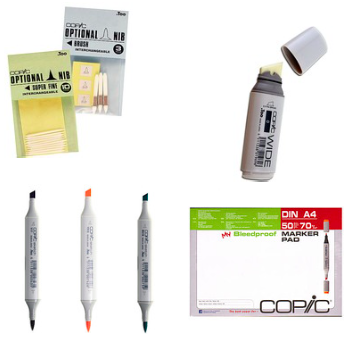 Copic Sketch marker Supplier #1
