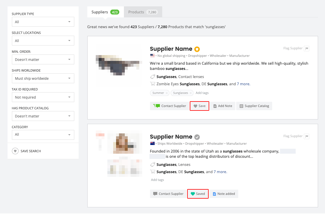 Add To Favorites how to add suppliers to your favorites list? | salehoo